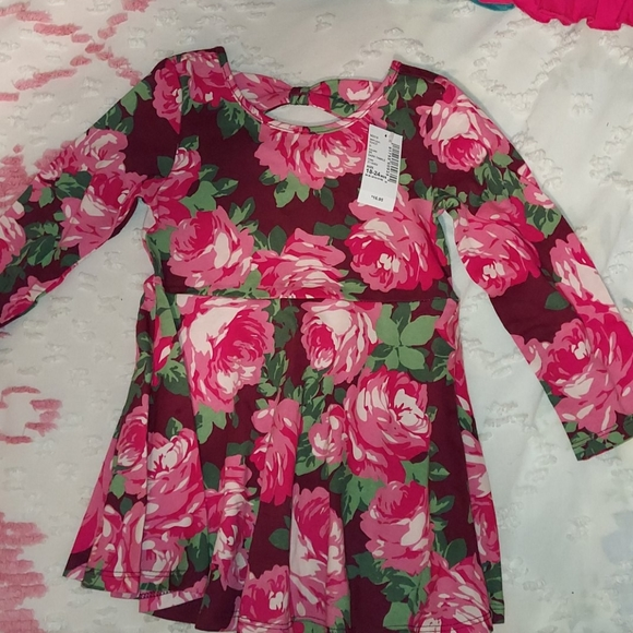 The children's place Roses dress